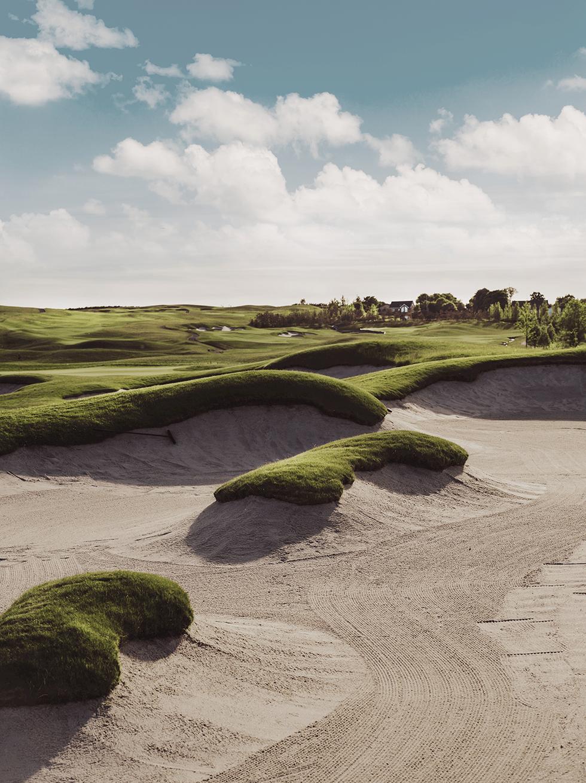 Ett av Europas mest storslagna golfprojekt