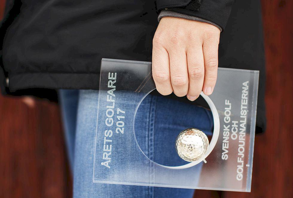 Anna Nordqvist utsedd till Årets Golfare