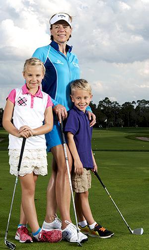 Sörenstams 5 bästa tips: Så får du barnen att spela golf