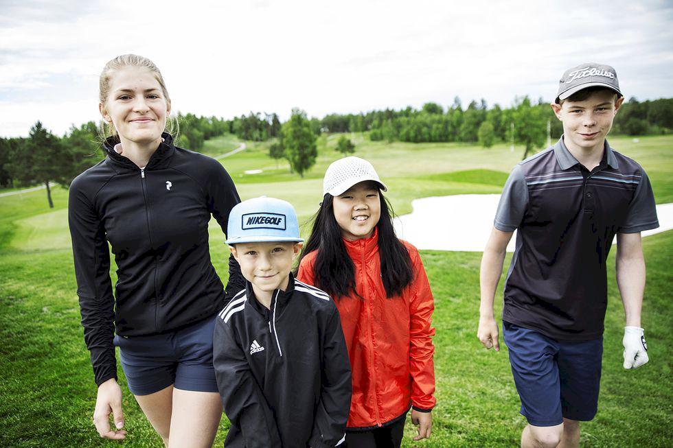 """""""Många nya kompisar inom golfen"""""""