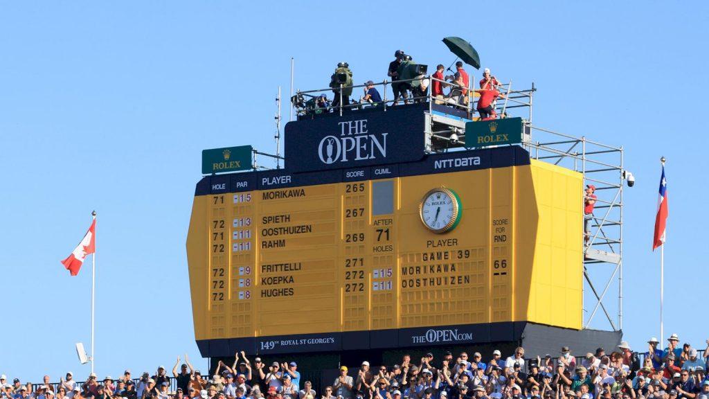 Svenskar I The Open