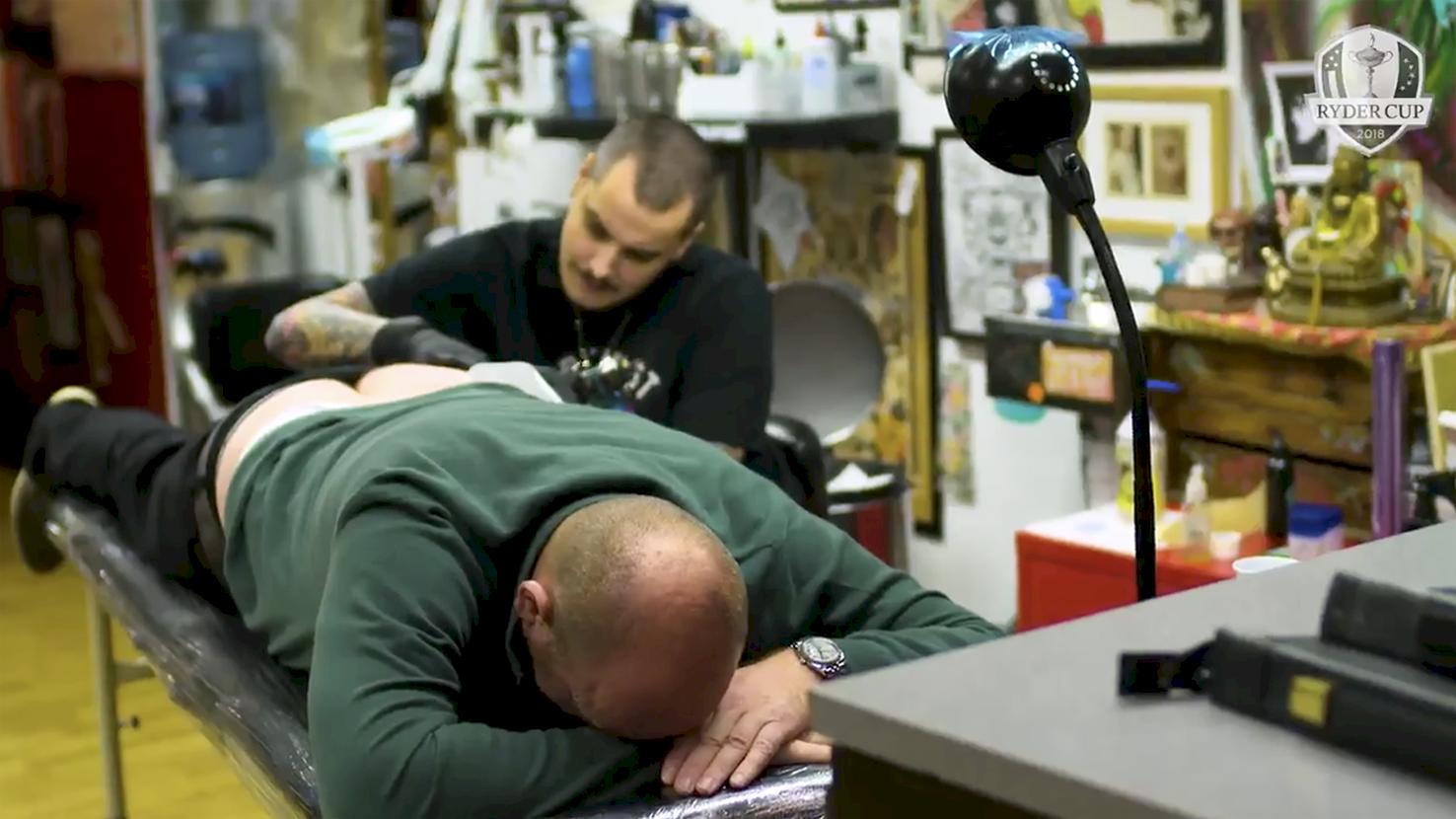 Padraig Harrington lovar att tatuera sig vid seger